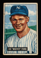 Whitey Ford 1951 Bowman #1 RC at PristineAuction.com