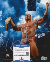Dave Batista Signed WWE 8x10 Photo (Beckett COA) at PristineAuction.com