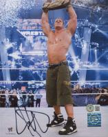 John Cena Signed WWE 8x10 Photo (Beckett COA) at PristineAuction.com