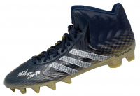 """Mike Singletary Signed Adidas Football Cleat Inscribed """"HOF 98"""" (Beckett COA) at PristineAuction.com"""