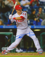 Andrew Knapp Signed Phillies 8x10 Photo (Beckett COA) at PristineAuction.com