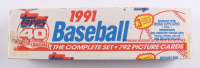 1991 Topps Complete Set of (792) Baseball Cards at PristineAuction.com
