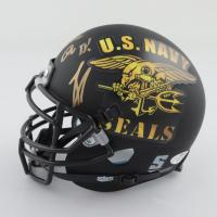 "Robert O'Neill Signed ""U.S. Navy SEAL"" Matte Black Mini Helmet Inscribed ""Never Quit!"" (PSA COA) at PristineAuction.com"