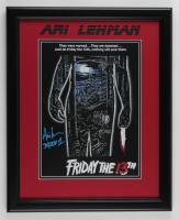 "Ari Lehman Signed ""Friday the 13th"" 17x21 Custom Framed Photo Inscribed ""Jason 1"" (JSA COA) at PristineAuction.com"