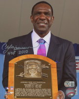"""Andre Dawson Signed Expos 8x10 Photo Inscribed """"HOF 2010"""" (Beckett COA) at PristineAuction.com"""