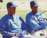 Ken Griffey Sr. Signed Mariners 8x10 Photo (Beckett COA) at PristineAuction.com