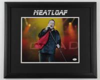 Meatloaf Signed 18x22 Custom Framed Photo Display (JSA COA) (See Description) at PristineAuction.com