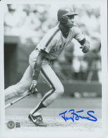 Darryl Strawberry Signed Mets 8x10 Photo (Beckett COA) at PristineAuction.com