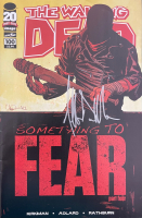 """Jeffrey Dean Morgan Signed 2012 """"The Walking Dead"""" Issue #100 Comic Book Inscribed """"Negan"""" (Beckett Hologram) at PristineAuction.com"""