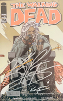 """Khary Payton Signed 2013 """"The Walking Dead"""" Issue #108 Comic Book Inscribed """"Negan"""" (Beckett Hologram) at PristineAuction.com"""