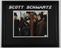 "Scott Schwartz Signed ""A Christmas Story"" 18x22 Custom Framed Photo Display Inscribed ""Flick"" (JSA COA) (See Description) at PristineAuction.com"