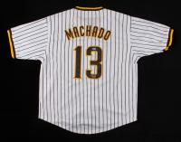 Manny Machado Signed Jersey (Beckett COA) (See Description) at PristineAuction.com