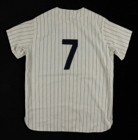 """Mickey Mantle Signed Yankees Jersey Inscribed """"No. 7"""" (JSA LOA & Beckett LOA) at PristineAuction.com"""