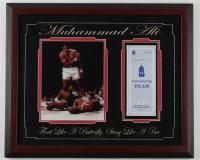 "Muhammad Ali Signed 19x23 Custom Framed ""Introducing Islam"" Brochure (JSA LOA) (See Description) at PristineAuction.com"