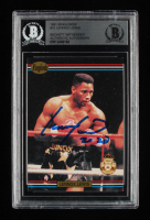 """Lennox Lewis Signed 1991 Ringlords #10 Inscribed """"2020"""" (BGS Encapsulated) at PristineAuction.com"""