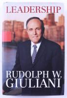 "Rudy Guliani Signed ""Leadership"" Hardcover Book (JSA COA) (See Description) at PristineAuction.com"