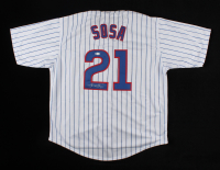 Sammy Sosa Signed Jersey (Beckett COA) (See Description) at PristineAuction.com