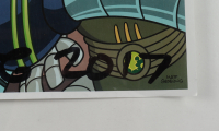 """Matt Groening Signed """"Futurama"""" 12x24 Poster Inscribed """"Your Pal"""" & """"2017"""" (Beckett LOA) (See Description) at PristineAuction.com"""