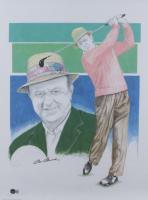 Sam Snead Signed LE 18x24 Lithograph (Beckett COA) (See Description) at PristineAuction.com