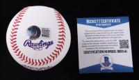 "Vladimir Guerrero Jr. Signed 2021 All Star Game Baseball Inscribed ""1st ASG"" (Beckett COA) at PristineAuction.com"