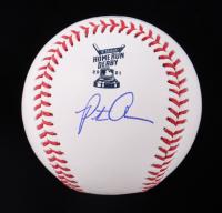 Pete Alonso Signed 2021 Home Run Derby Baseball (MLB Hologram & Fanatics Hologram) at PristineAuction.com