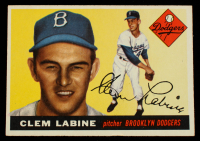 Clem Labine 1955 Topps #180 at PristineAuction.com