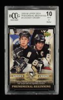 Sidney Crosby 2005-06 Upper Deck Phenomenal Beginnings #14 (BCCG 10) at PristineAuction.com