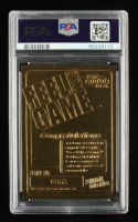 Cal Ripken Jr. 2000 Bleachers 23KT Gold Feel The Game with Piece of Game-Used Bat (PSA 8) at PristineAuction.com