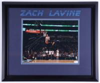 Zach LaVine Signed UCLA Bruins 19x23 Custom Framed Photo Display (JSA COA) (See Description) at PristineAuction.com