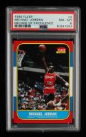 Michael Jordan 1996-97 Fleer Decade of Excellence #4 (PSA 8) at PristineAuction.com