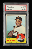 Willie Mays 1963 Topps #300 (PSA 8) (OC) at PristineAuction.com