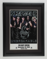 """Scorpions"" LE 19x24 Custom Framed Photo Display Signed By (5) With James Kottak, Rudolf Schenker, Klaus Meine, Pawel Maciwoda (JSA COA) at PristineAuction.com"