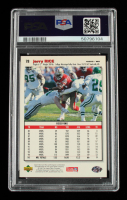 Jerry Rice Signed 1995 Collector's Choice #78 (PSA Encapsulated) at PristineAuction.com