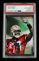 Jerry Rice Signed 1994 Select #21 (PSA Encapsulated) at PristineAuction.com