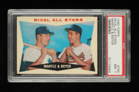 Mickey Mantle & Ken Boyer 1960 Topps #160 Rival All-Stars (PSA 7) at PristineAuction.com
