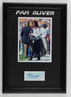 "Pam Oliver Signed 14.5x20.5 Custom Framed Cut Display Inscribed ""Fox Sports!"" (JSA COA) at PristineAuction.com"