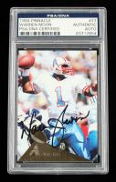 Warren Moon Signed 1994 Pinnacle #77 (PSA Encapsulated) at PristineAuction.com