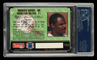 Warren Moon Signed 1993 Action Packed Prototypes #FB6 (PSA Encapsulated) at PristineAuction.com