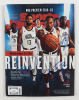 Patrick Beverley, Lou Williams & Montrezl Harrell Signed 2019 Sports Illustrated Magazine (JSA Hologram) (See Description) at PristineAuction.com