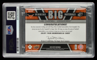"""Earl Campbell Signed 2014 SPx Winning Big Materials #WBEC Inscribed """"HOF 91"""" (PSA Encapsulated) at PristineAuction.com"""