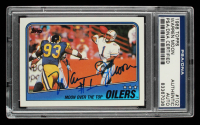 Warren Moon Signed 1988 Topps #102 Oilers TL (PSA Encapsulated) at PristineAuction.com
