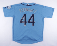 "Julio Rodriguez Signed Mariners Jersey Inscribed ""J-Rod Show"" (JSA Hologram) at PristineAuction.com"