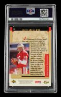 Joe Montana Signed 1995 Upper Deck Joe Montana Box Set #10 / Super Bowl XVI (PSA Encapsulated) at PristineAuction.com