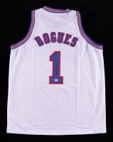 Muggsy Bogues Signed Jersey (PSA COA) at PristineAuction.com