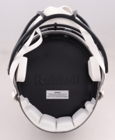 Leonard Fournette Signed Buccaneers Full-Size Speed Helmet (Fanatics Hologram) (See Description) at PristineAuction.com