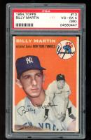 Billy Martin 1954 Topps #13 (PSA 4) (MK) at PristineAuction.com