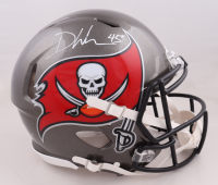 Devin White Signed Buccaneers Full-Size Authentic On-Field Speed Helmet (Beckett COA) (See Description) at PristineAuction.com