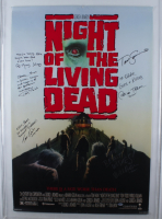 """""""Night of the Living Dead"""" 27x40 Movie Poster Signed By (6) with Tom Savini, Tom Towles, William Butler, Bill Moseley, Patricia Tallman and Tony Todd with Multiple Inscriptions (Beckett LOA) (See Description) at PristineAuction.com"""