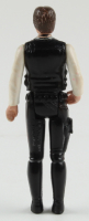 """Set of (2) 1977 """"Star Wars"""" Han Solo & Chewbacca Oringinal Figures with Display Case at PristineAuction.com"""