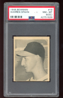 Warren Spahn 1948 Bowman #18 RC (PSA 8) (OC) at PristineAuction.com